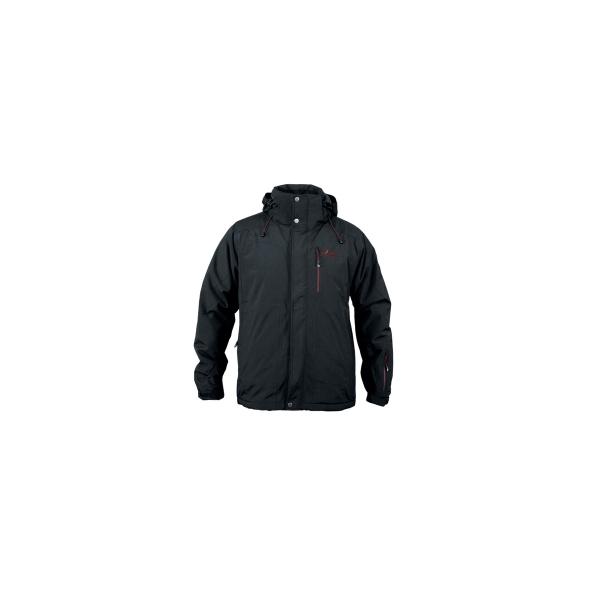 PINEA Herren Ski & Freizeitjacke AATU Farbe BLACK