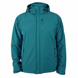 PINEA Herren Winter Softshell Jacke Farbe VESA BLUE