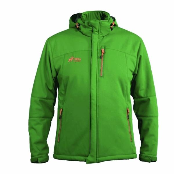PINEA Herren Winter Softshell Jacke VESA Farbe LIGHT OLIVE Größe M