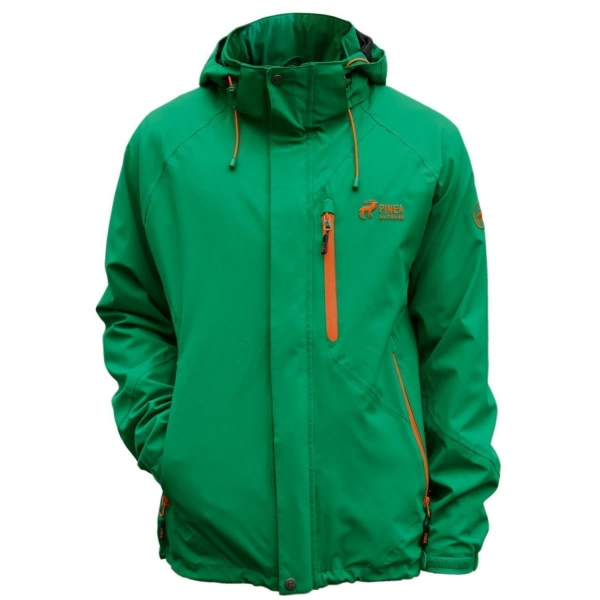 PINEA Herren Outdoor Jacke JIMI Farbe FOREST GREEN Größe XXL