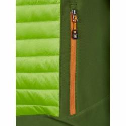 PINEA Herren Hybrid Jacke ELMO Farbe OLIVGRÜN Größe M