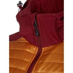 PINEA Herren Hybrid Jacke ELMO Farbe ROT ORANGE Größe XXL