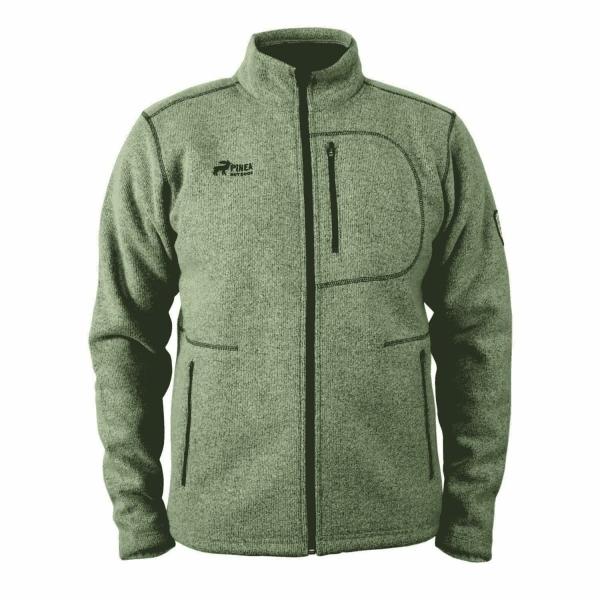 PINEA Herren Wollfleece Jacke JUSSI Farbe SAND Größe 3XL