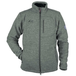 PINEA Herren Wollfleece Jacke JUSSI Farbe DARK GREY in...