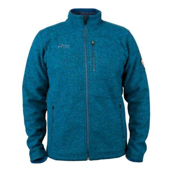PINEA Herren Wollfleece Jacke JUSSI Farbe BLUE