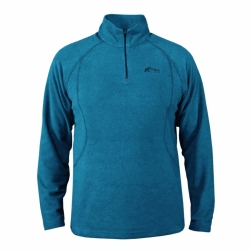 PINEA Damen & Herren Fleece Pulli SAMU Farbe BLUE