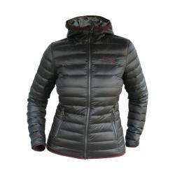 PINEA Damen Daunen Jacke NELLI Farbe SCHWARZ