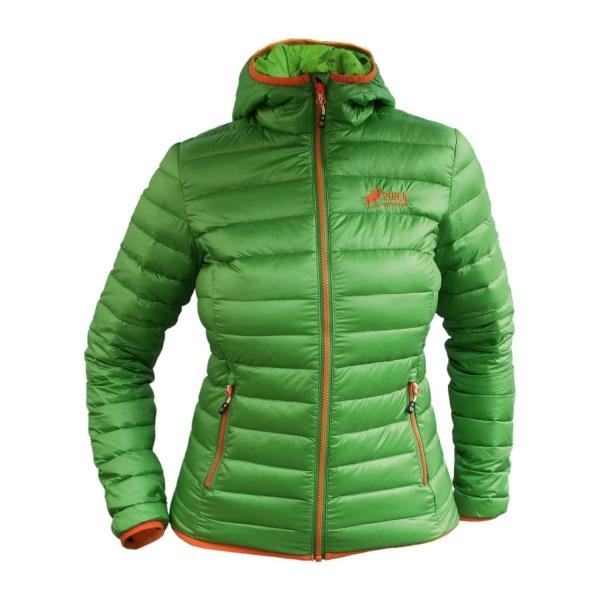 PINEA Damen Daunen Jacke NELLI Farbe GRÜN Größe 36