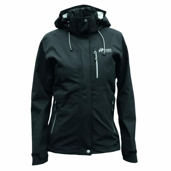 PINEA Damen Outdoor Jacke ALISA Farbe SCHWARZ Größe 50
