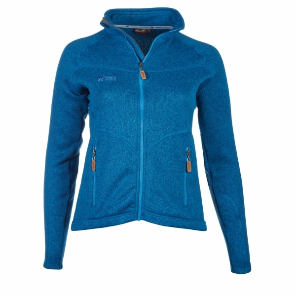 PINEA Damen Strickfleece Jacke MILLA
