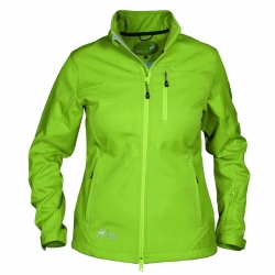 PINEA Damen Softshell Jacke TARJA Farbe GREEN mit...