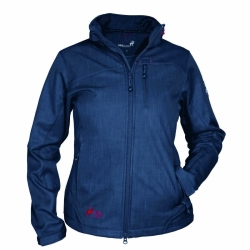 PINEA Damen Softshell Jacke TARJA Farbe DARK BLUE in...