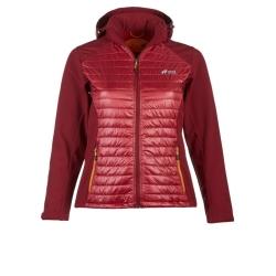 PINEA Damen Hybrid Jacke NINA Farbe WEINROT Größe 38