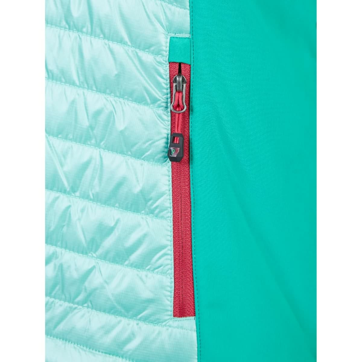 pinea damen hybrid jacke nina farbe mintgr n in verschiedenen gr. Black Bedroom Furniture Sets. Home Design Ideas