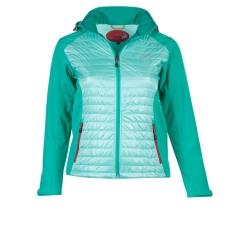 PINEA Damen Hybrid Jacke NINA Farbe MINTGRÜN