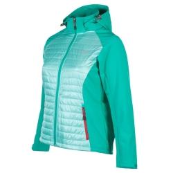 PINEA Damen Hybrid Jacke NINA Farbe MINTGRÜN Größe 36