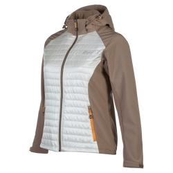 PINEA Damen Hybrid Jacke NINA Farbe CREME Größe 34