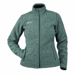 PINEA Damen Wollfleece Jacke VIIVI Farbe DARK GREY in...