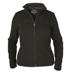 PINEA Damen Strickfleece Jacke MILLA Farbe BLACK...