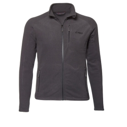PINEA Herren Fleece Jacke TOMI Farbe CARBON GREY