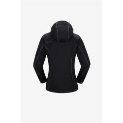 PINEA Damen Softshell Jacke KATA Farbe SCHWARZ Größe 34