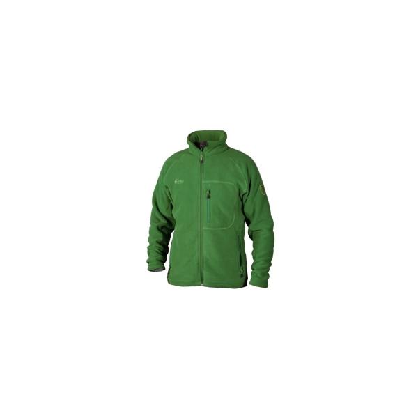 PINEA Herren warme Fleece Jacke JOUNI Farbe GRÜN Größe M