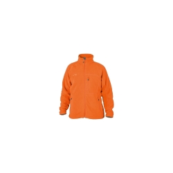 PINEA Herren warme Fleece Jacke JOUNI in Farbe ORANGE in...