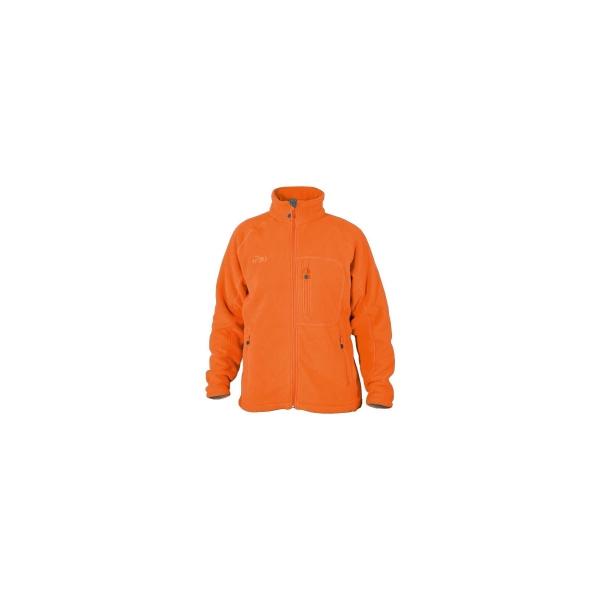 PINEA Herren warme Fleece Jacke JOUNI Farbe ORANGE Größe 3XL