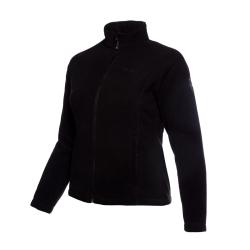 PINEA Damen warme Fleece Jacke MIIA Farbe SCHWARZ Größe 42