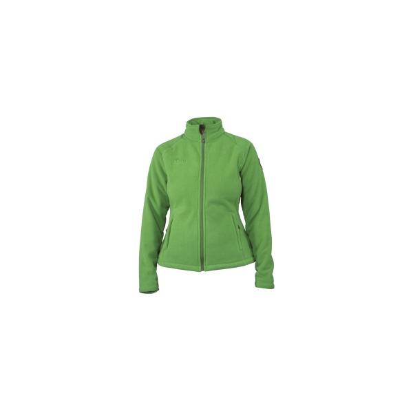 PINEA Damen warme Fleece Jacke MIIA Farbe GRÜN