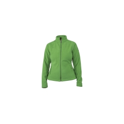PINEA Damen warme Fleece Jacke MIIA GRÜN