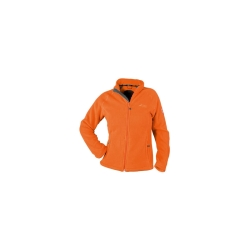 PINEA Damen warme Fleece Jacke MIIA ORANGE