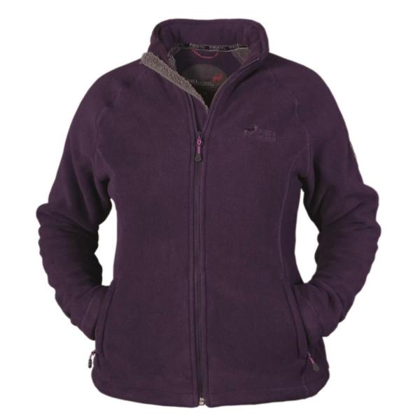 PINEA Damen warme Fleece Jacke MIIA Farbe Lila Größe 46