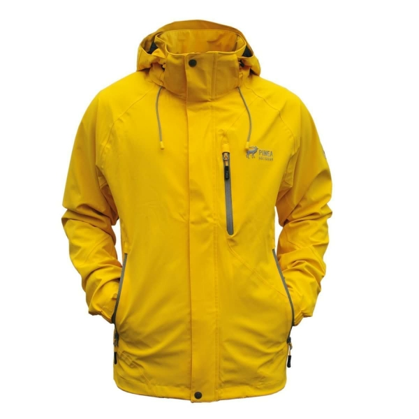 PINEA Herren Outdoor Jacke JIMI Farbe YELLOW