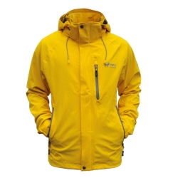PINEA Herren Outdoor Jacke JIMI Farbe YELLOW