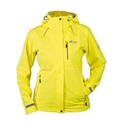 PINEA Damen Outdoor Jacke ALISA Farbe YELLOW