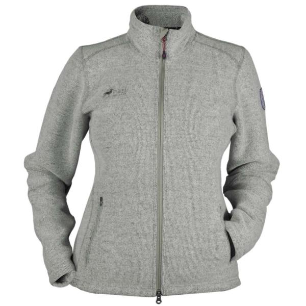 PINEA Damen Wollfleece Jacke VIIVI Farbe LIGHT GREY Größe 46