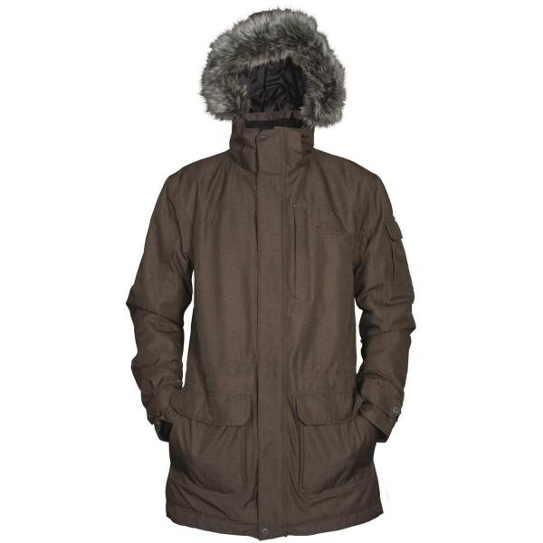 PINEA Herren Mantel SAMI Farbe BROWN Größe M