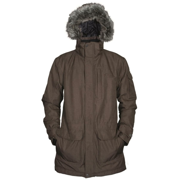 PINEA Herren Mantel SAMI Farbe BROWN Größe XL