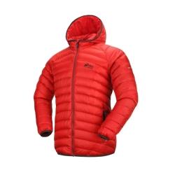 PINEA Herren Daunen Jacke AARO Farbe ROT-ORANGE Größe XL