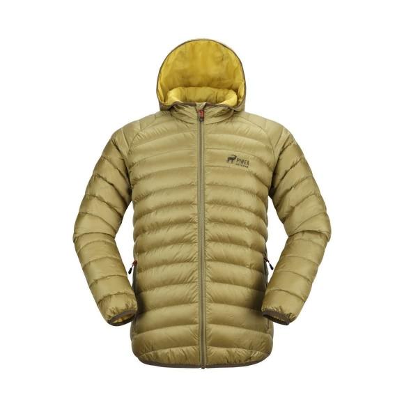 PINEA Herren Daunen Jacke AARO Farbe OLIVGRÜN Größe XL