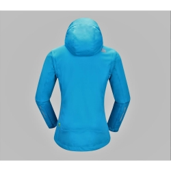 PINEA Damen Sommer Softshell Jacke AINO Farbe BLAU Größe 46