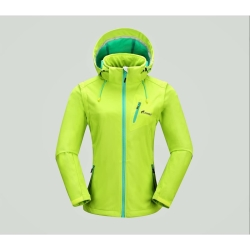 PINEA Damen Sommer Softshell Jacke AINO Farbe LIMEGRÜN