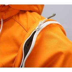 PINEA Damen Sommer Softshell Jacke AINO Farbe HERBST-ORANGE