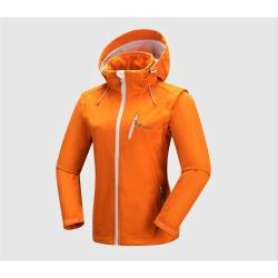 PINEA Damen Sommer Softshell Jacke AINO Farbe HERBST-ORANGE Größe 46