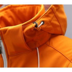PINEA Damen Sommer Softshell Jacke AINO Farbe HERBST-ORANGE Größe 48