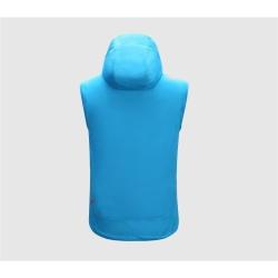 PINEA Herren Sommer Softshell Jacke KAI Farbe BLAU Größe 4XL