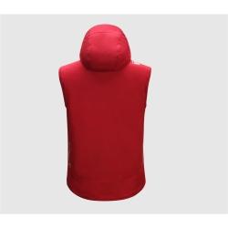 PINEA Herren Sommer Softshell Jacke KAI Farbe CHILI ROT Größe S
