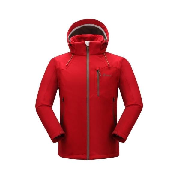 PINEA Herren Sommer Softshell Jacke KAI Farbe CHILI ROT Größe XL
