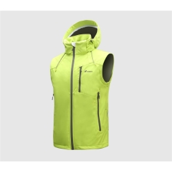 PINEA Herren Sommer Softshell Jacke KAI Farbe LIME Größe XL